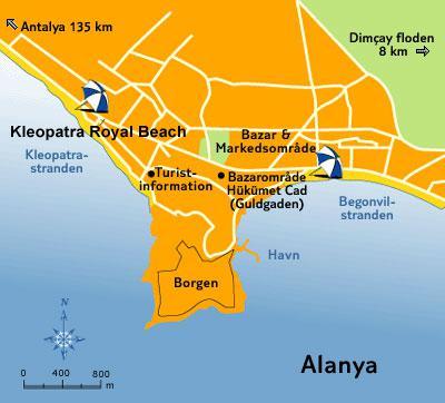 Turecko - Alanya - KLEOPATRA ROYAL PALM SUITE HOTEL ****